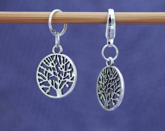 Tree of Life Knitting or Crochet Stitch Marker, Crochet Marker, Knitting Tools, Crochet Tools, Gift for Knitters, Gift for Crocheters, Pagan