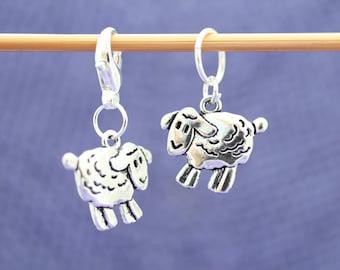 Sheep Knitting or Crochet Stitch Marker, Knitting Stitch Marker, Crochet Tools, Knitting Tools, Gift for Knitters, Gift for Crocheters