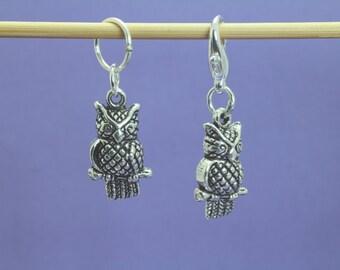 Owl Knitting or Crochet Stitch Marker, Knitting Marker, Crochet Marker, Knitting Tools, Crochet Tools, Gift for Knitters