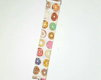 Mini Donuts - passy clip/pacifier leash/bandana bib set or single