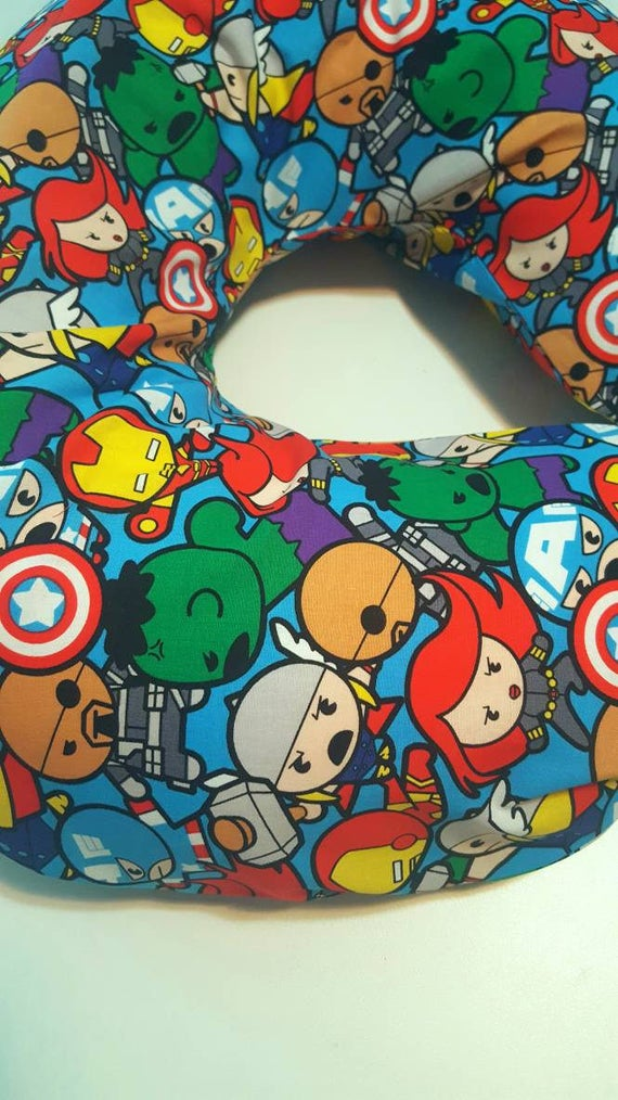 SALE Marvel Avengers Kawaii Sheet/Boppy Cover