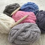 Jumbo Chenille Yarn, Chunky Chenille Yarn, Arm Knit Yarn, Baby Yarn