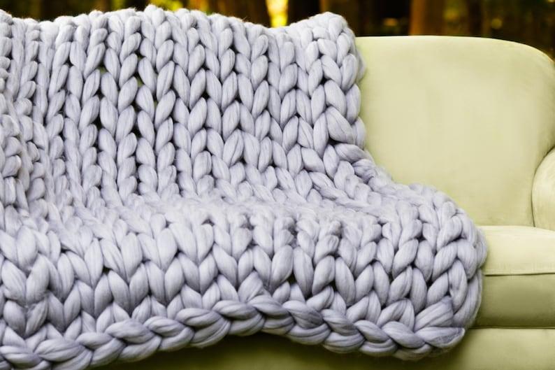 c4bdbf5e840f20 DIY Hand Knitting VIDEO tutorial Video tutorial for Blanket