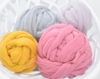 Merino Wool Yarn, Merino Wool, chunky knit yarn, Arm Knit Wool Yarn, Merino Wool Yarn