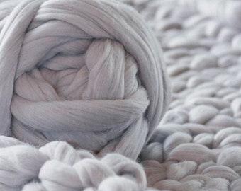 Super Chunky Wool Yarn, Super Bulky Yarn, Arm Knit Wool Yarn,Merino Wool Yarn