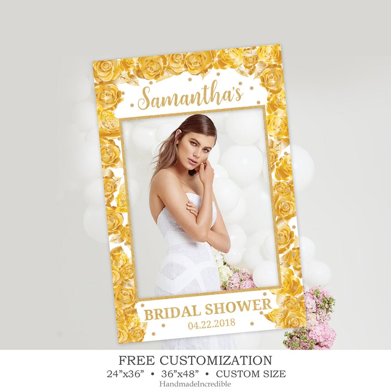 photo relating to Frame Template Printable known as Gold Selfie Body Template, Printable Floral Image Prop Body, Gold Roses Bridal Shower Image Booth, Wedding ceremony Photograph Prop Electronic Product PP60