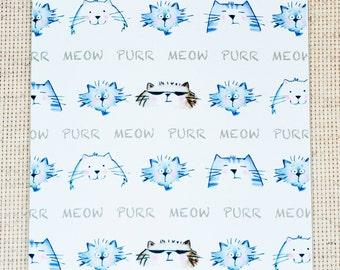 Cat Note Card, Cat Lover Note Card, Cute Cat Note Card, Cool Cat Note Card, Cute Cat, Cool Cat,  Cute Cat Lover Card, Cute Cat Card