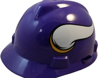 MSA Minnesota Vikings hard hats 47dde10a882
