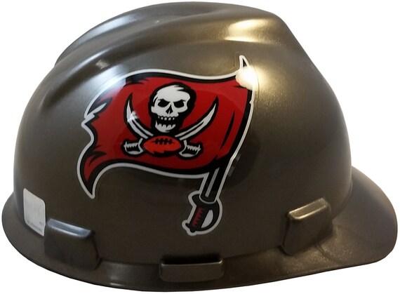 MSA Tampa Bay Buccaneers hard hats  527586d54fe