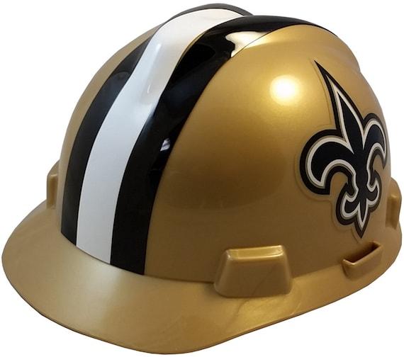 c7c42cf5c37 MSA New Orleans Saints hard hats
