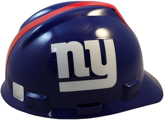 MSA New York Giants hard hats  d43a76f6398