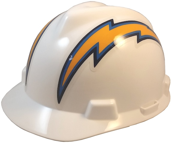 51a90b33602 MSA Los Angeles Chargers hard hats