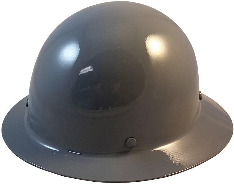MSA Skullgard Full Brim Hard Hat - Gray