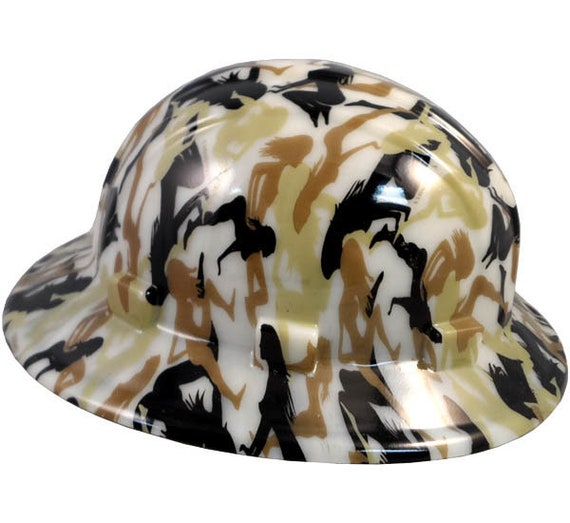 Bootie Girl Hydro Dipped Glow in the Dark Hard Hats Full Brim  6a170aacfc7a