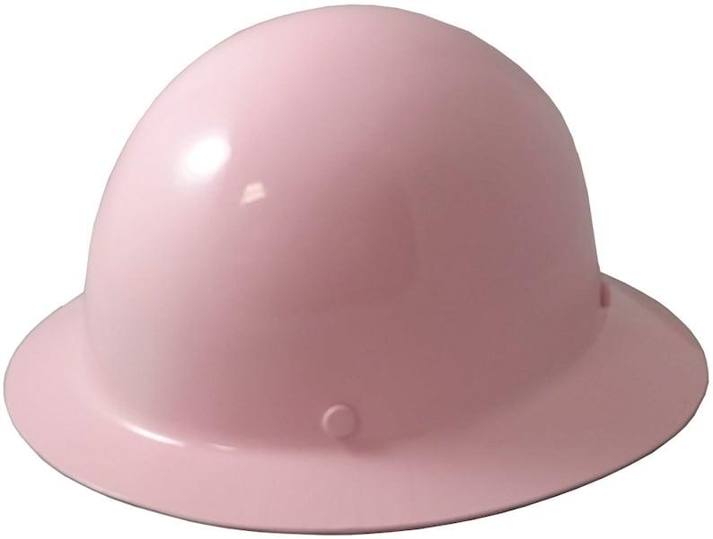 MSA Skullgard Full Brim Hard Hat - Light Pink