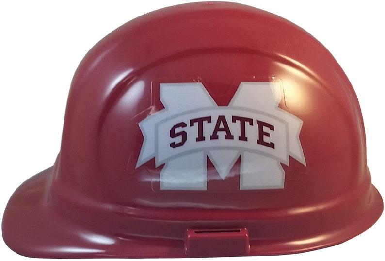 Mississippi State Bulldogs Hardhat w Ratchet Suspension