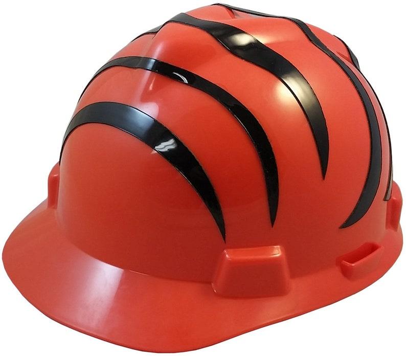 6a850293d MSA Cincinnati Bengals hard hat | Etsy