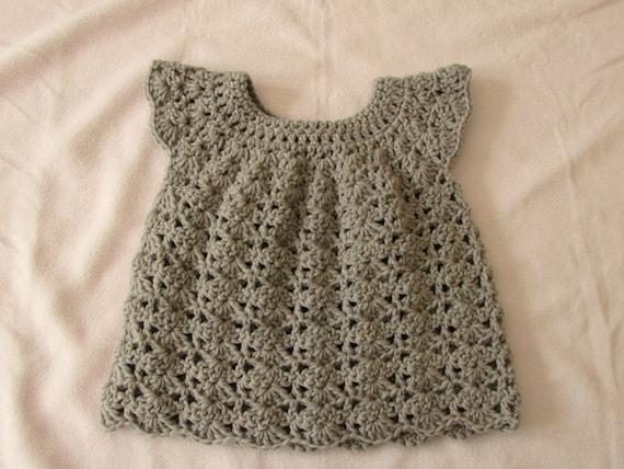 768a64432 Crochet Baby   Toddler s Shell Stitch Dress Written