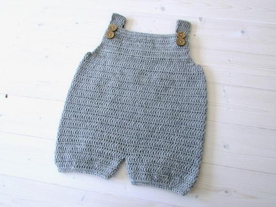Crochet Robin Dungarees Romper Written Pattern Simple Baby Etsy