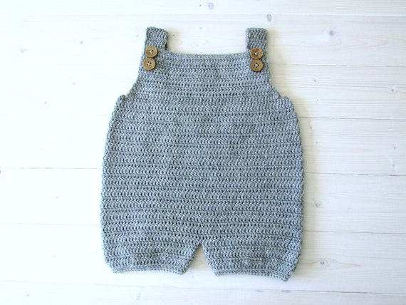 ab38c1eea Crochet Robin Dungarees   Romper Written Pattern Simple Baby