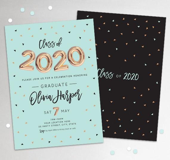 Graduation Invitations 2020
