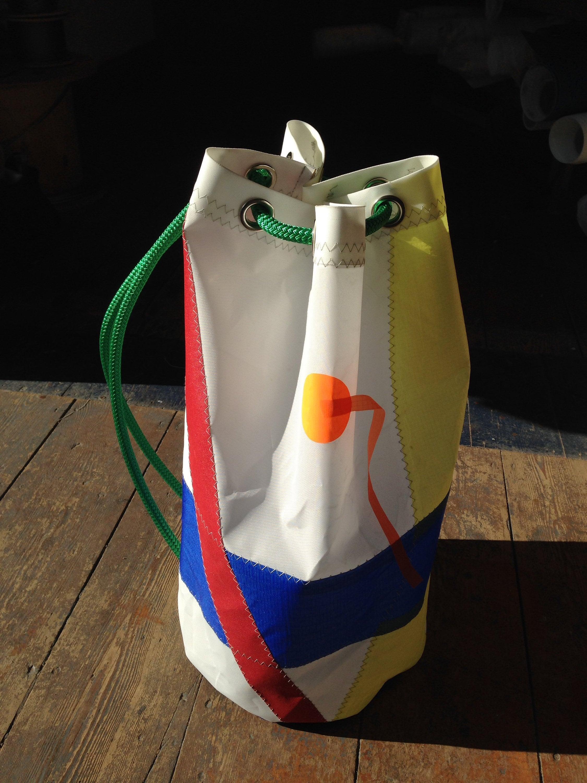 Unique Design Duffel Bag Stripes With Elephants Travel Tote Bag Handbag Crossbody Luggage