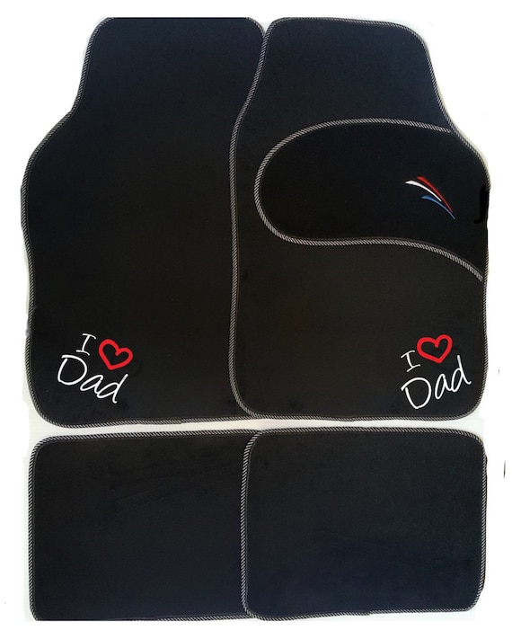 Personalised universal car mats easter gift grandad grandma negle Images