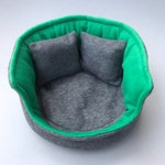 LARGE cuddle cup. Pet sofa. Guinea pig bed. Pet beds. Fleece bed. Fleece sofa. Pet sofa.