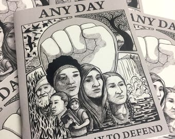 Any Day Is A Good Day to Defend - Notebook
