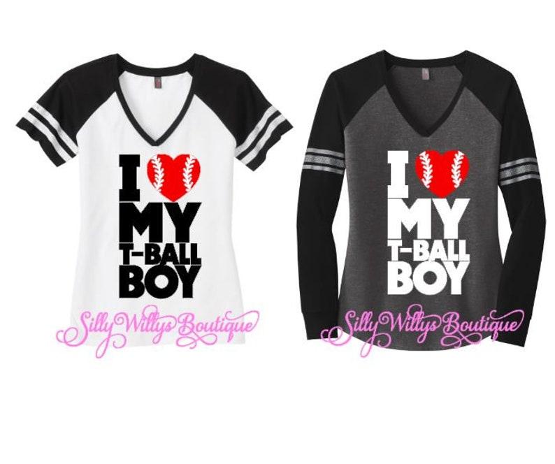 9e76717323 T-Ball mom shirt, I love my T Ball boy shirt, T Ball mom shirt, T ball  shirt, T-Ball mom tee, Baseball mom shirt, Baseball shirt, Baseball