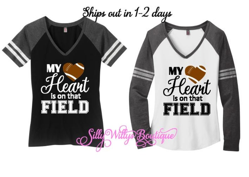 14+ My Heart Is On That Field – Football Design