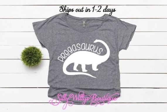 b84241443 Pregasaurus shirt Pregnancy Announcement Shirt Pregnancy | Etsy