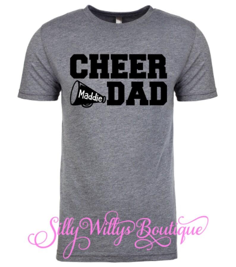 fe8227d7 Cheer Dad Shirt Cheerleader Allstar Cheer Cheer | Etsy