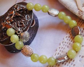Yellow Jasper bracelet - holidays gift idea