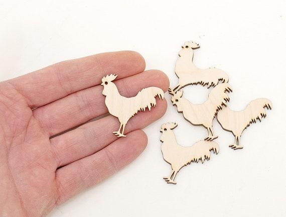 10x WOODEN PUMPKIN SHAPES gift tag craft card scrapbook embellishment favours