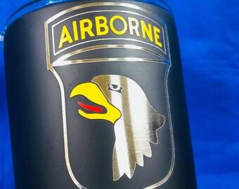 101ST Airborne Tumbler NO VINYL