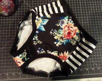Panel Undies PDF Sewing Pattern, Underwear Pattern, Panty Pattern, Hipster Pattern, Brief Pattern