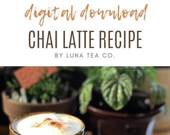 Downloadable Tea Recipes