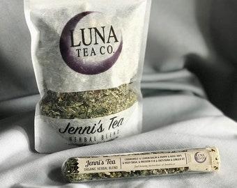 Herbal Tea - Chamomile Tea - Organic Hand Crafted Loose Leaf Tea - Sleepy Time Tea - Relaxing - Mellow - Destress - Floral - JENNI'S TEA