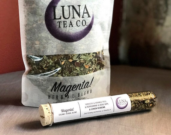 Magenta! (tea of the month!)