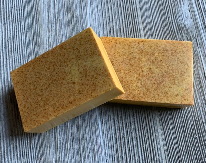 Orange patchouli glycerin soap