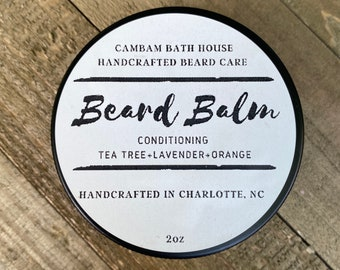 Tea tree Lavender Orange Beard Balm