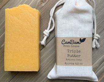 Triple Butter soap