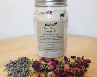 Lavender milk soothing bath salt