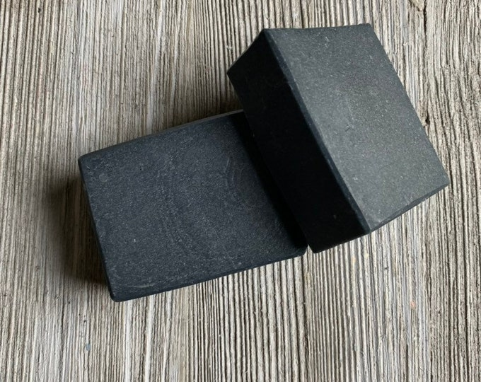Activated Charcoal deluxe size Detox soap