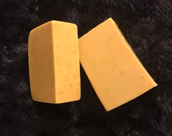 Turmeric & Orange goats milk soap