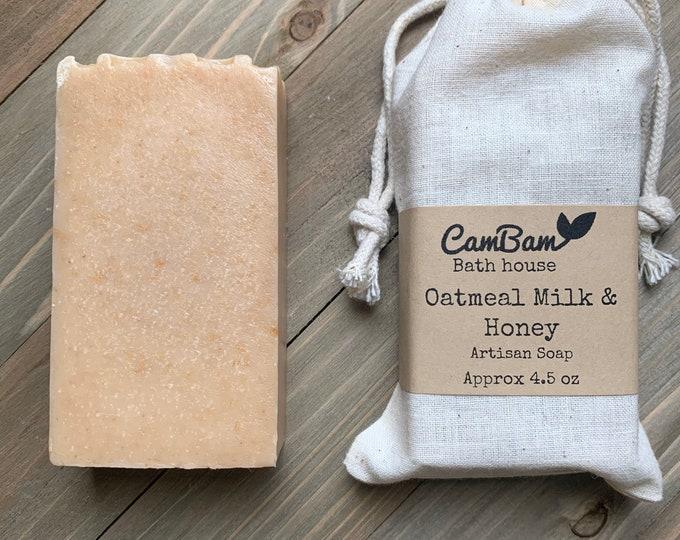 Oatmeal Milk & Honey Soap