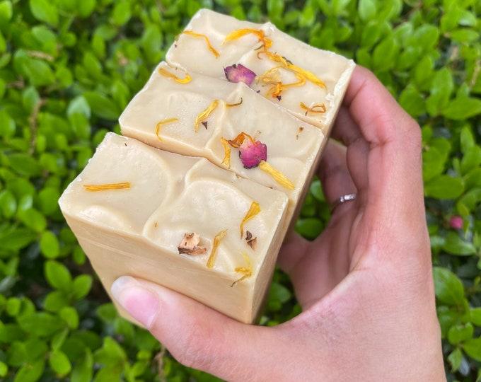 Yoni apple cider and Aloe Feminine Soap (fragrance free)