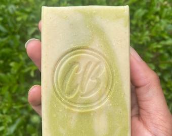 Goats milk & Aloe soothing soap (fragrance free)