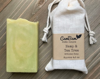 Hemp Tea Tree Soap